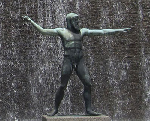 オリンピックの創始者ヘラクレス